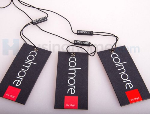 Black Paper Card Hang tag