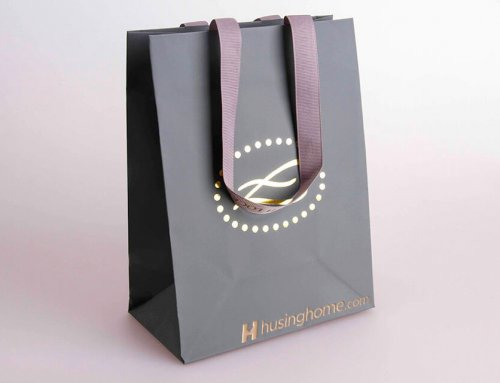 Elizabeth Lock Shopping Bag With Ribbon