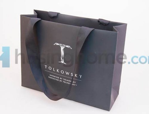 Tolkowsky Soft Touch Paper Bag and Box