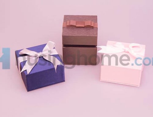 Jewelry Box with Ribbon